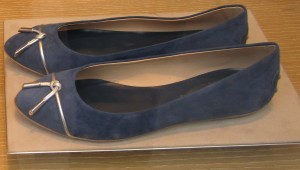 Scout by Bungalow blue ballet flats