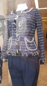 Scout by Bungalow chains navy and white suit