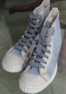 Scout by Bungalow grey blue high top sneakers