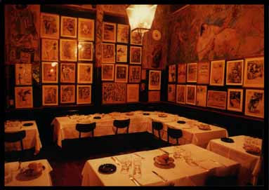 ristorante drawings from artists