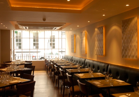 restaurant in london england