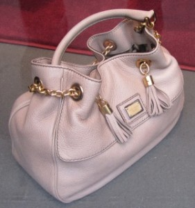 Scout by Bungalow metallic pink pastel tote bag