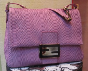 scout by bungalow rectangle shape pink fendi bag