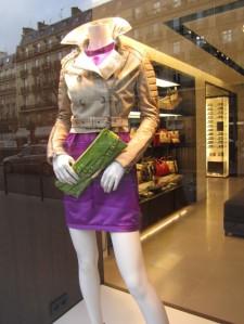green belt purple dress