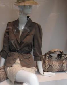 scout by bungalow snakeskin bag safari jacket eyelet skirt
