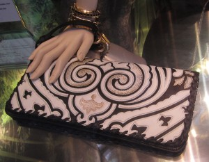 scout by bungalow clutch with ram print