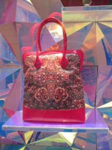 scout by bungalow matthew williamson for bulgari pink tote