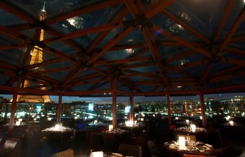 paris restaurant great view quai branly