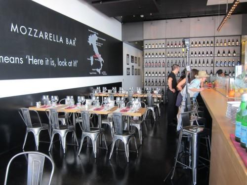 mozzarella restaurant in italy