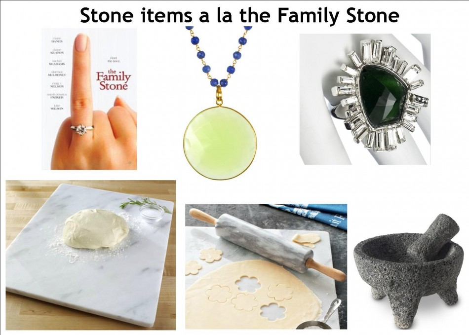 inspired by the family stone