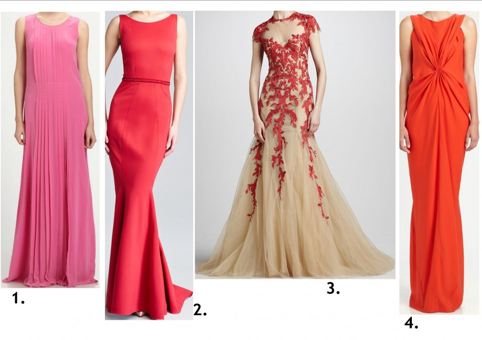 fiery romance gowns