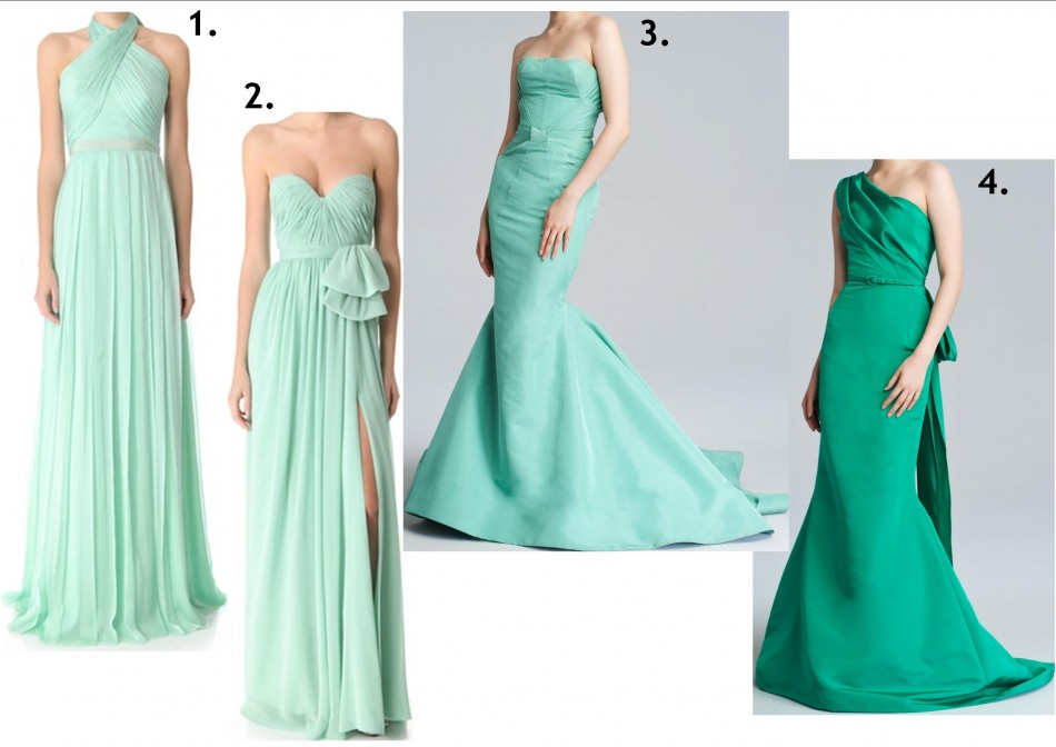 mermaid glam gowns