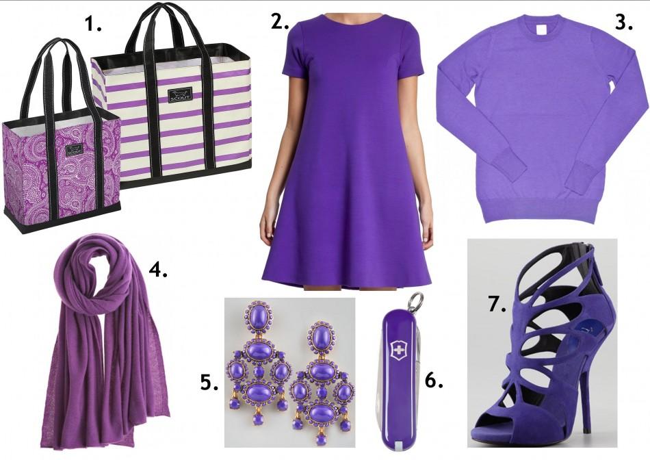purple glam pieces