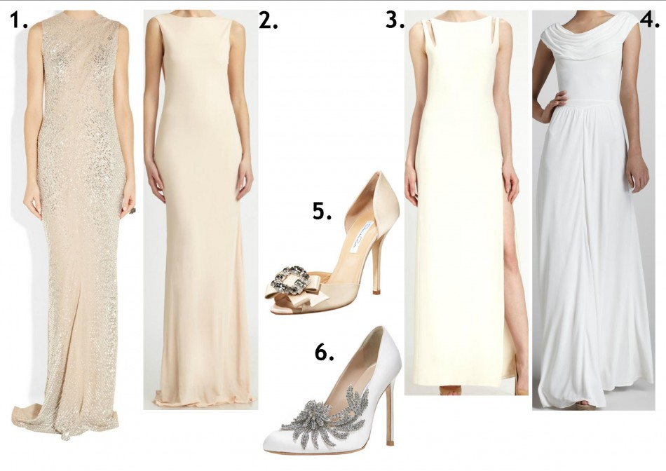 white and off white looks