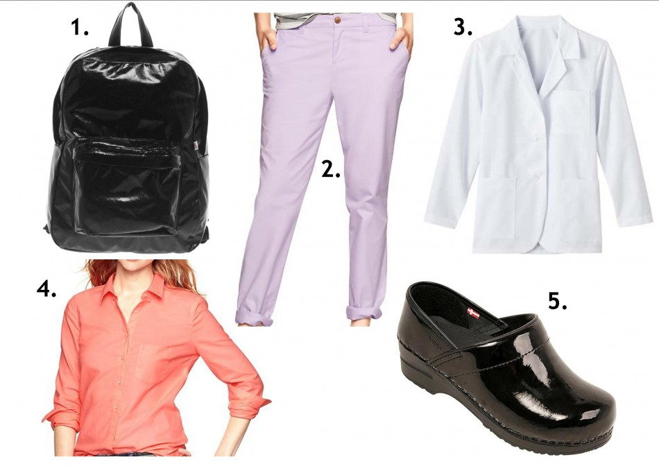 uniform with a twist look 1