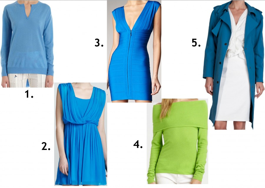 green and cool blue picks in stores