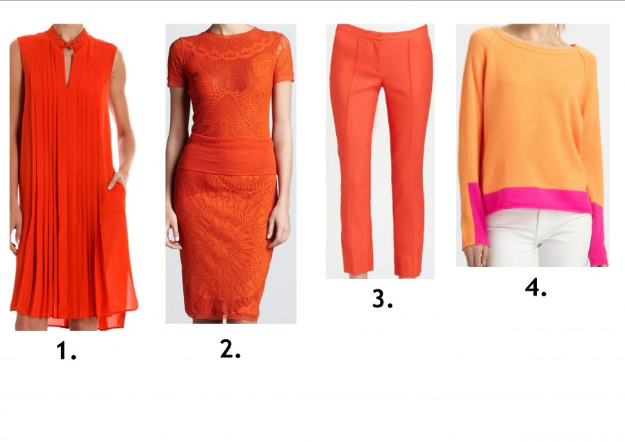 orange pieces in stores