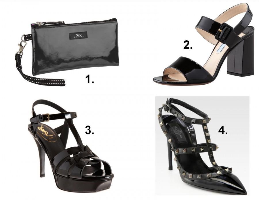 black patent shoes 1