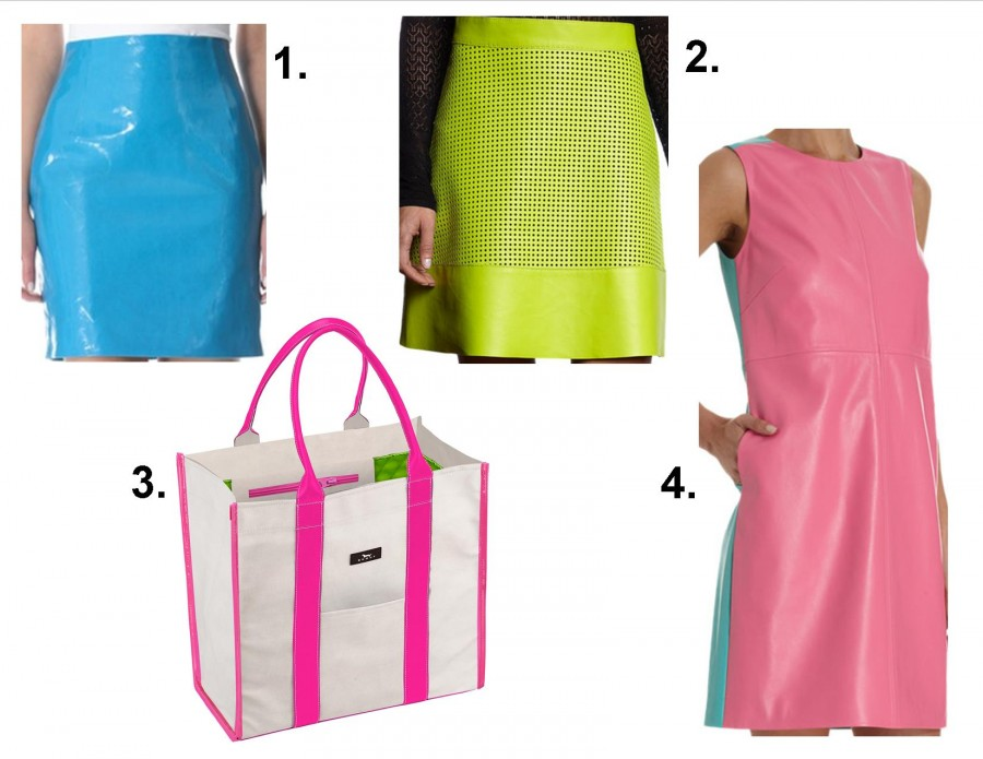 colorful patent and leather fashion 2