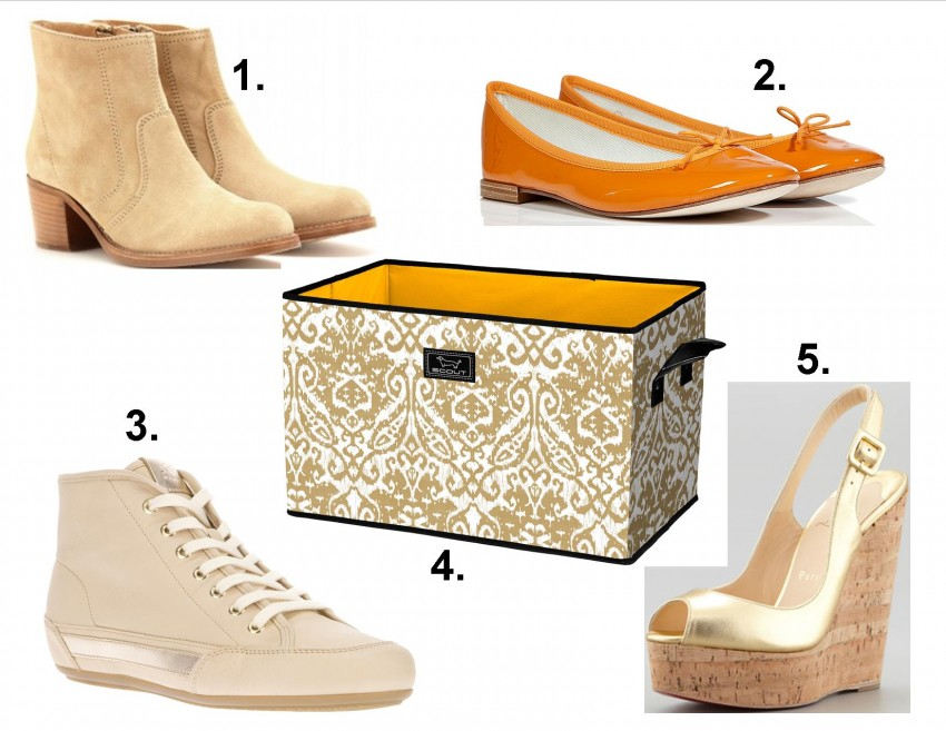 containing closet clutter shoes