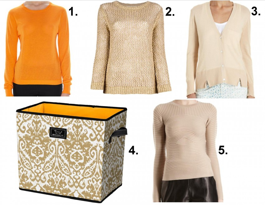 containing closet clutter sweaters