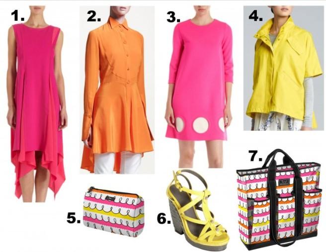 high price pink orange yellow