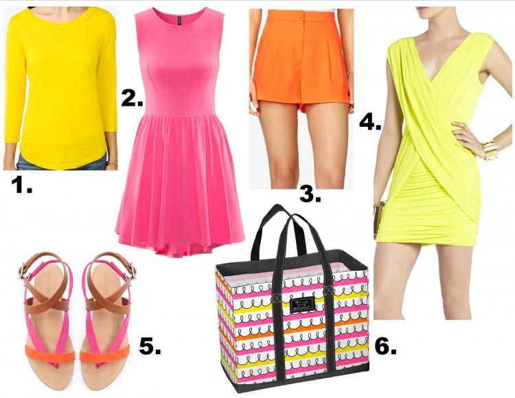 low price pink orange yellow