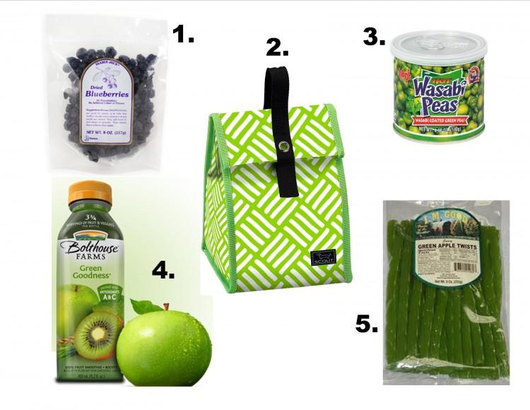 snacks in the doggie bag