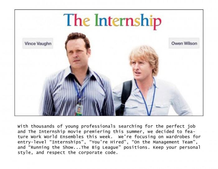 work wear internship movie