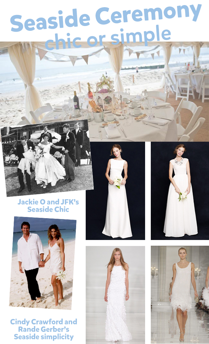 seaside wedding 1