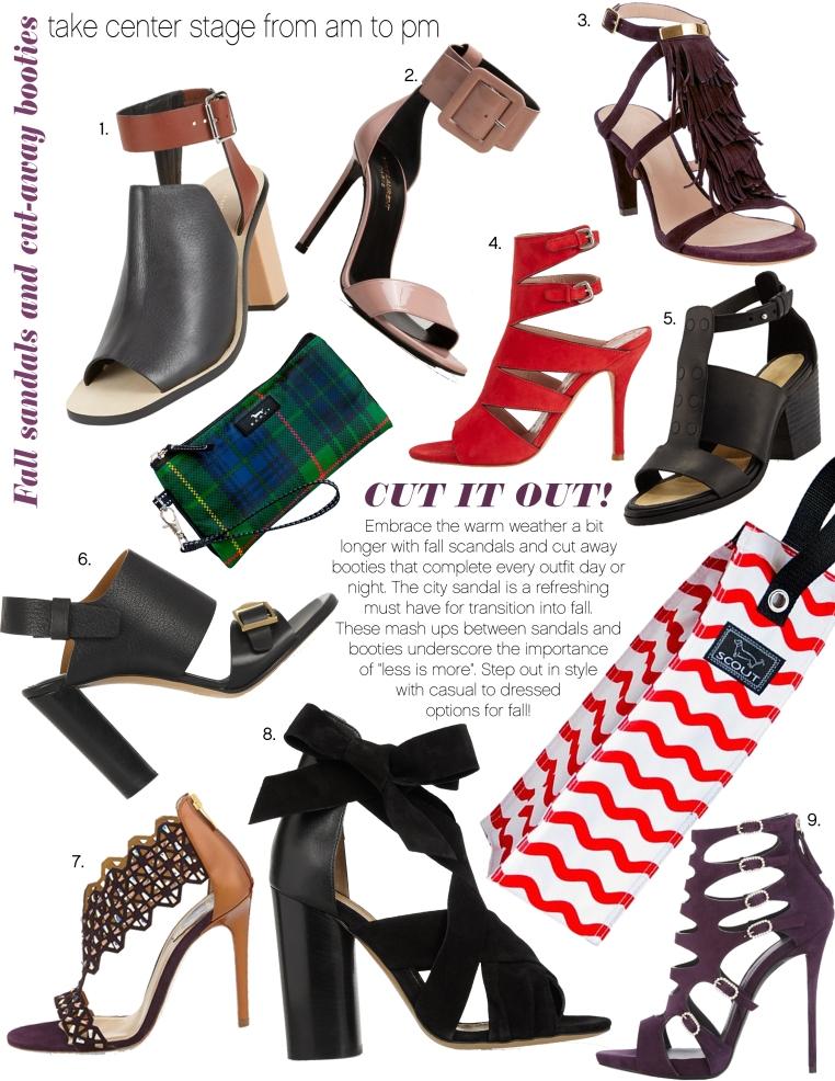 Cut Away heels