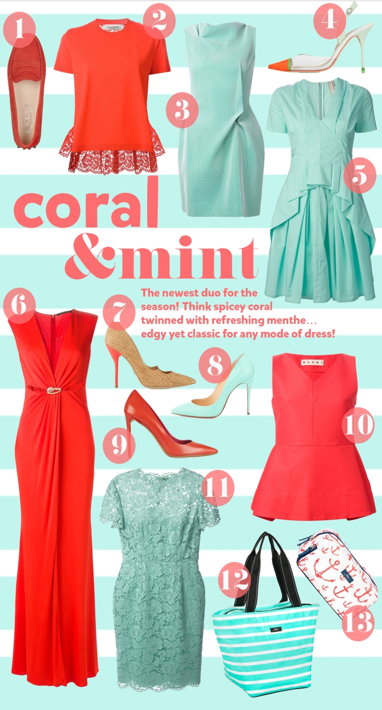 coral&mint