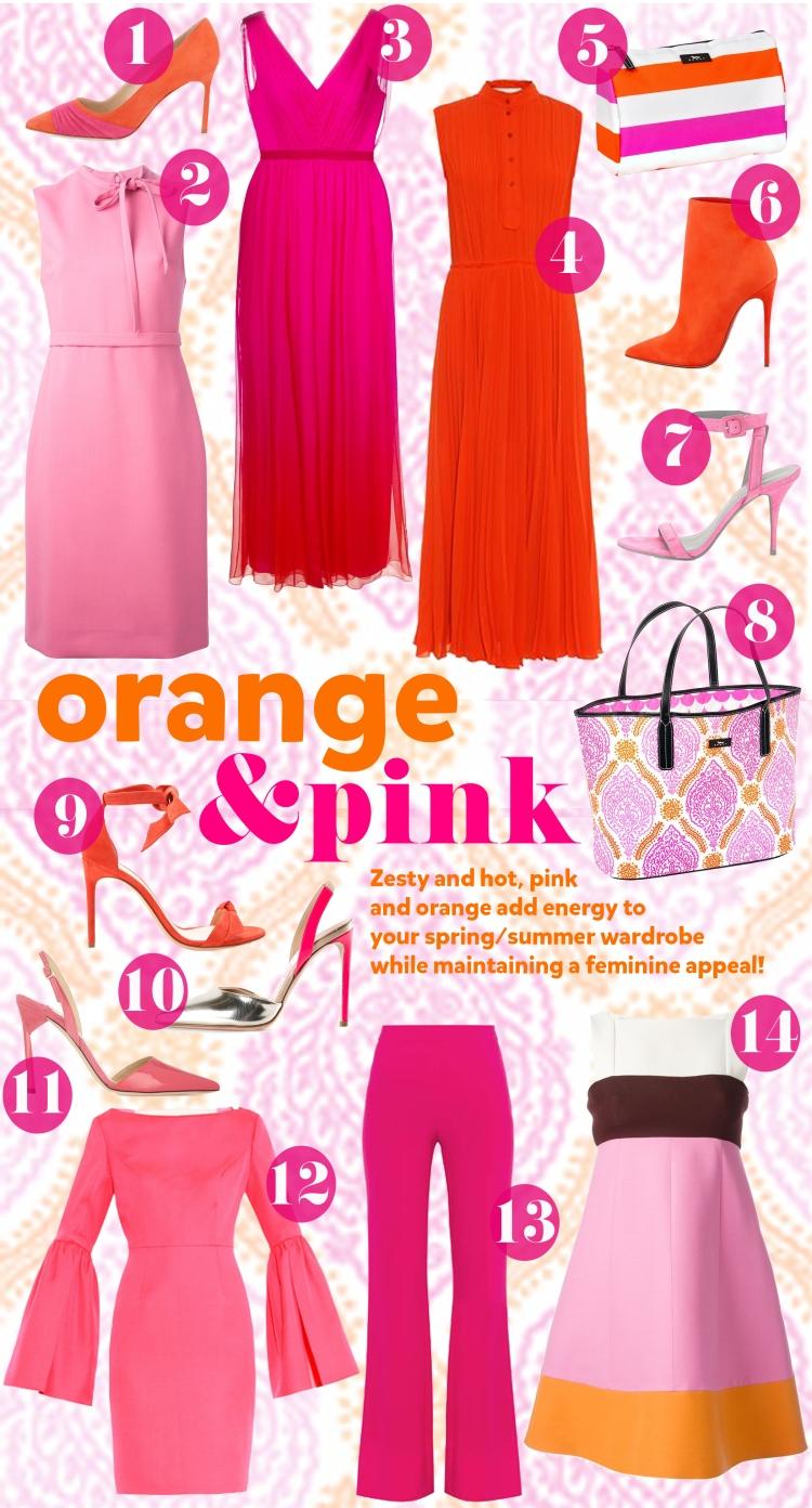 Pink&orange