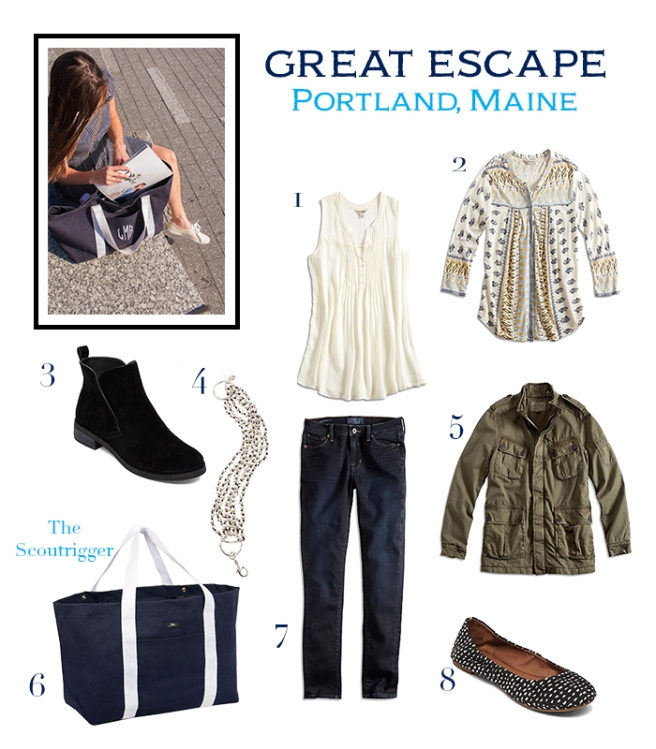 one stop shopping- Lucky Brand
