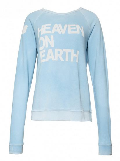 heaven on earth sweater