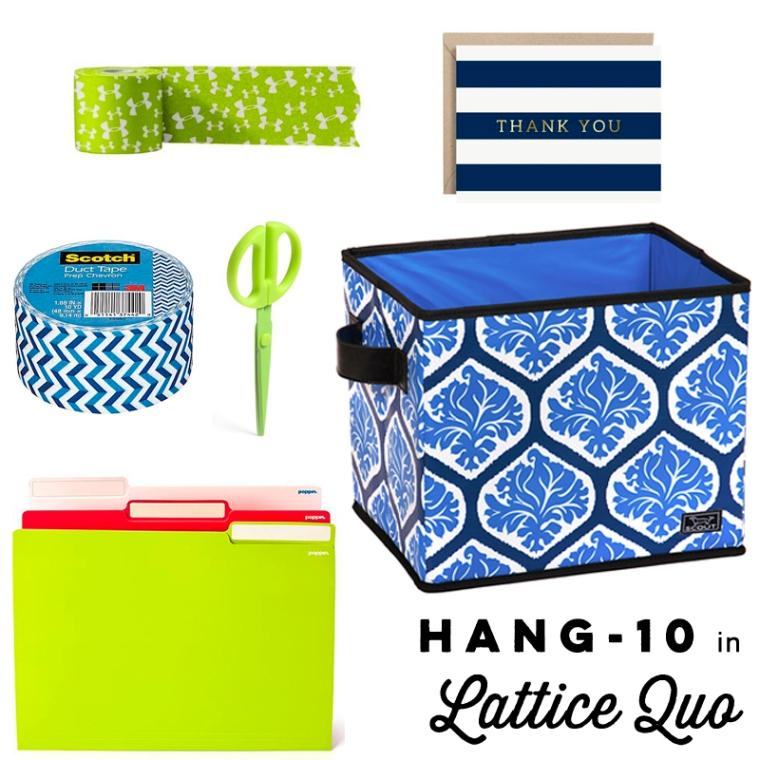 lattice quo hang 10