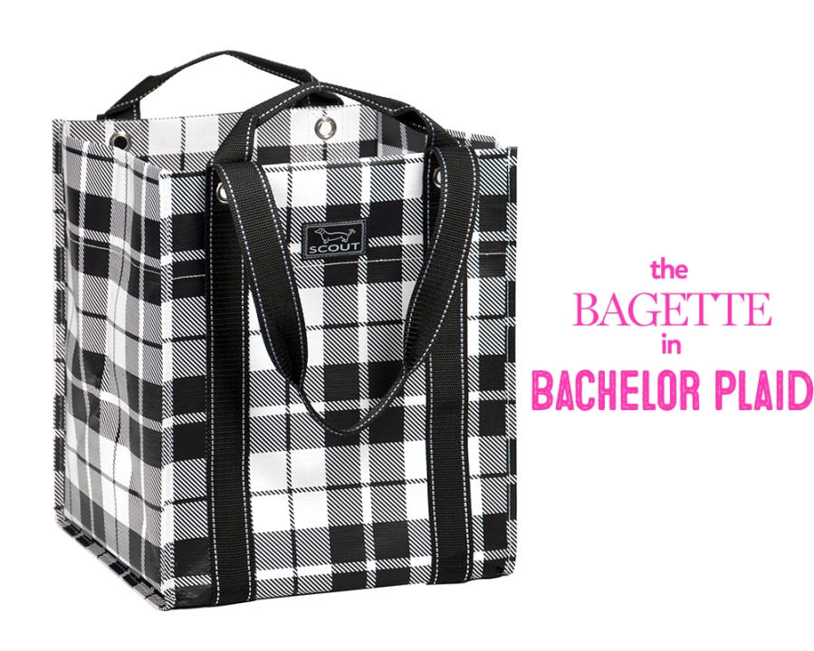 bagette bachelor plaid