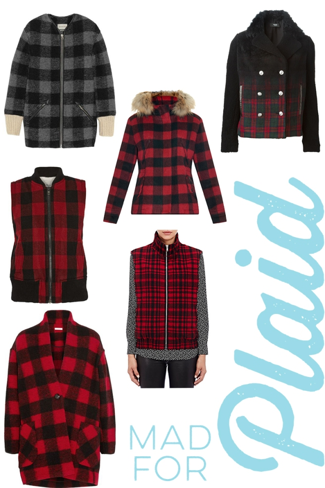 plaid jackets